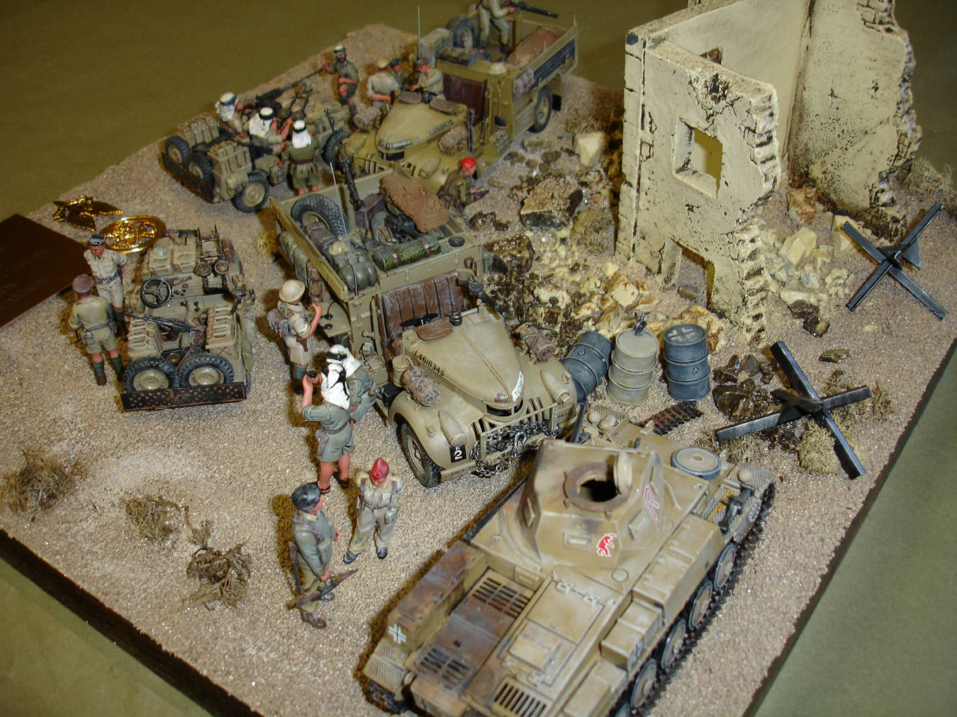 Long Range Desert Group Modelers Section