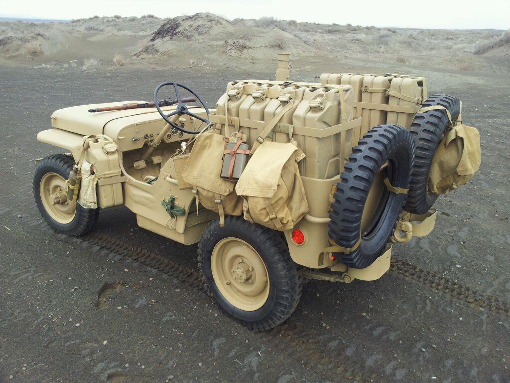 Long Range Desert Group Photos Equipment